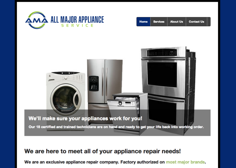 All Major Appliances Services